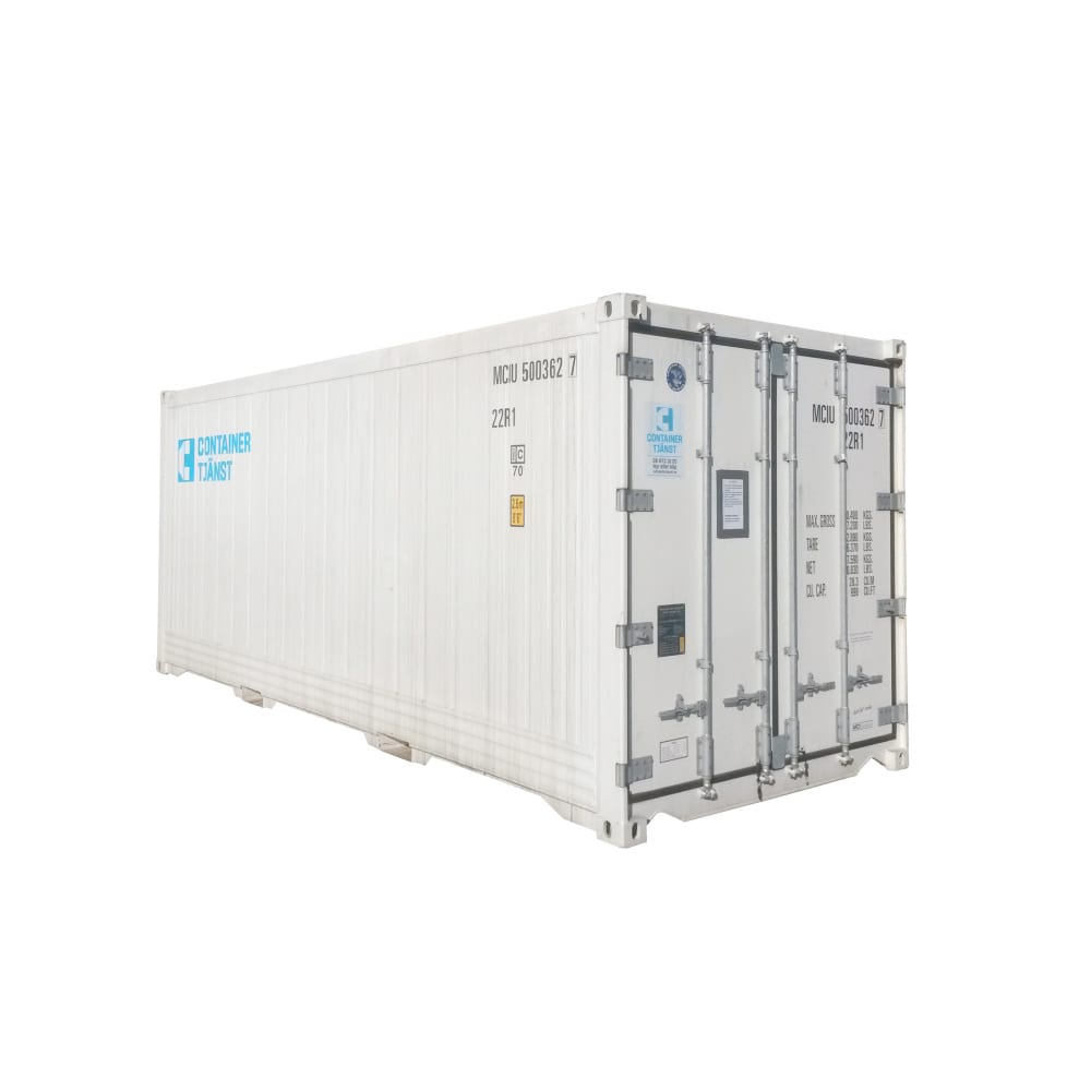 hyra kylcontainer 20 fot