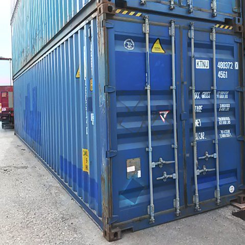 Container 40 fot high cube begagnad