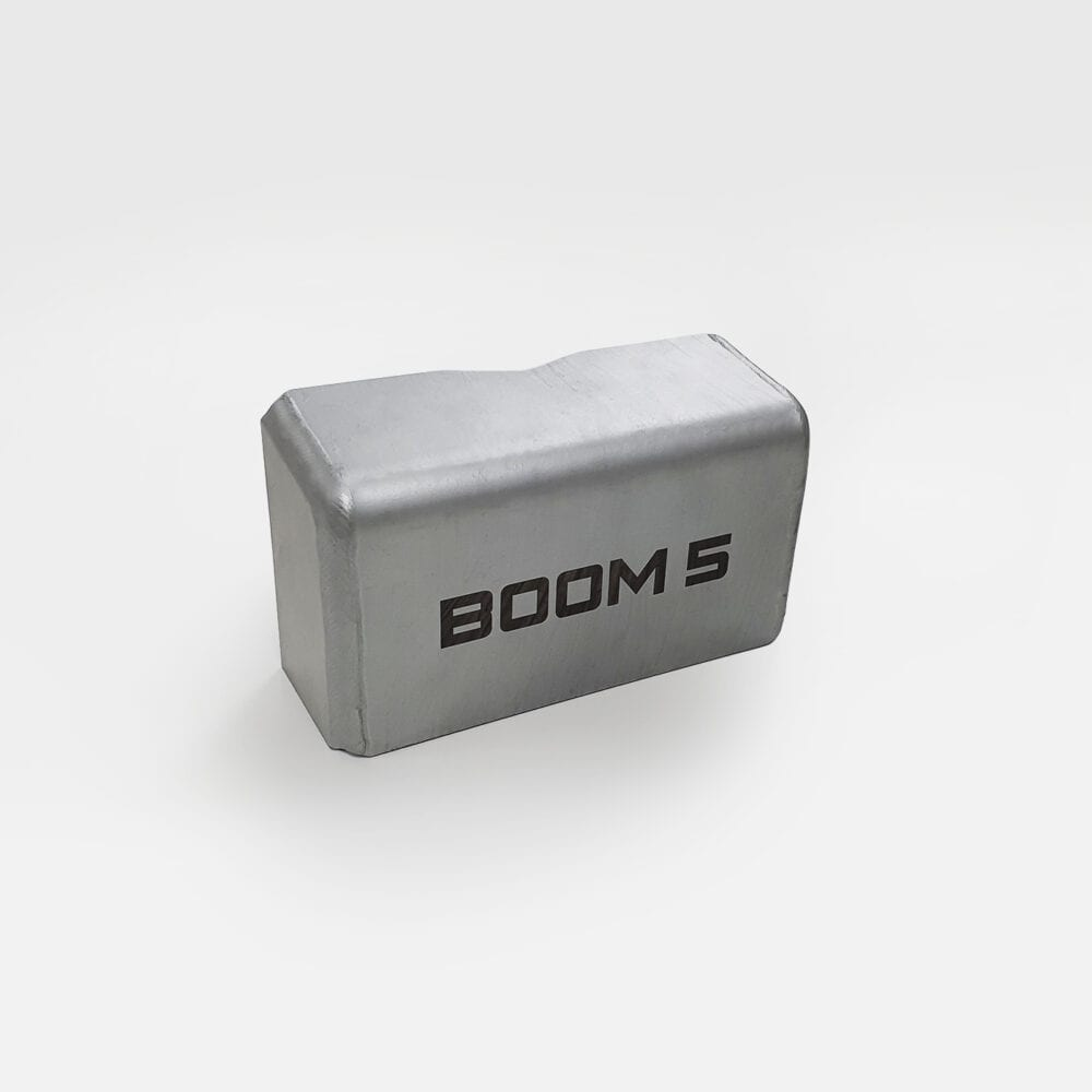 container låsbom i silver
